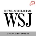 Wall Street Journal 1-Year (Digital) Subscription