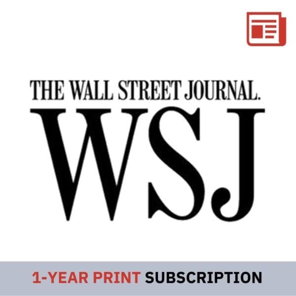 1 Year WSJ Print Subscription