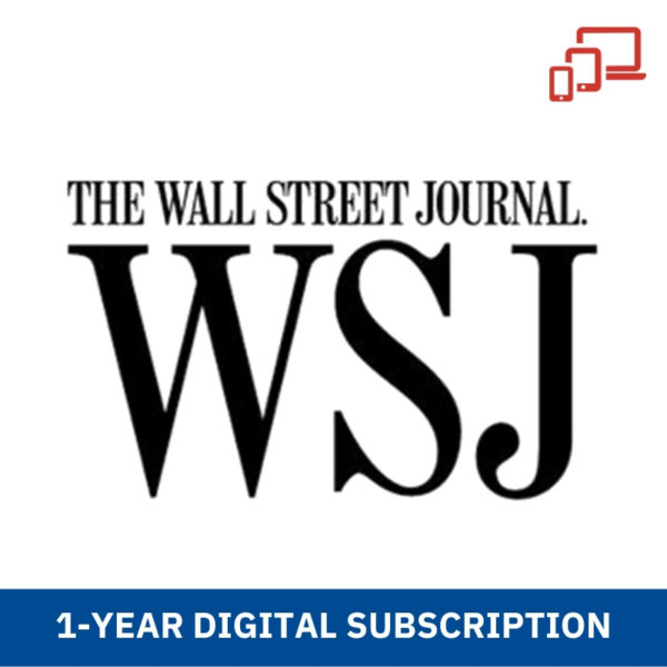 1 year WSJ subscription