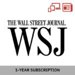 Wall Street Journal (Print & Digital) 1-Year Subscription