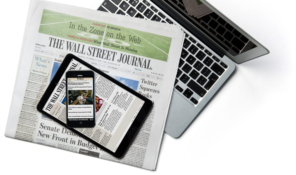 Digital Wall Street Journal 3 Year Subscription Discount