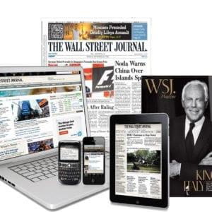 Wall Street Journal 3-Year (Digital) Subscription