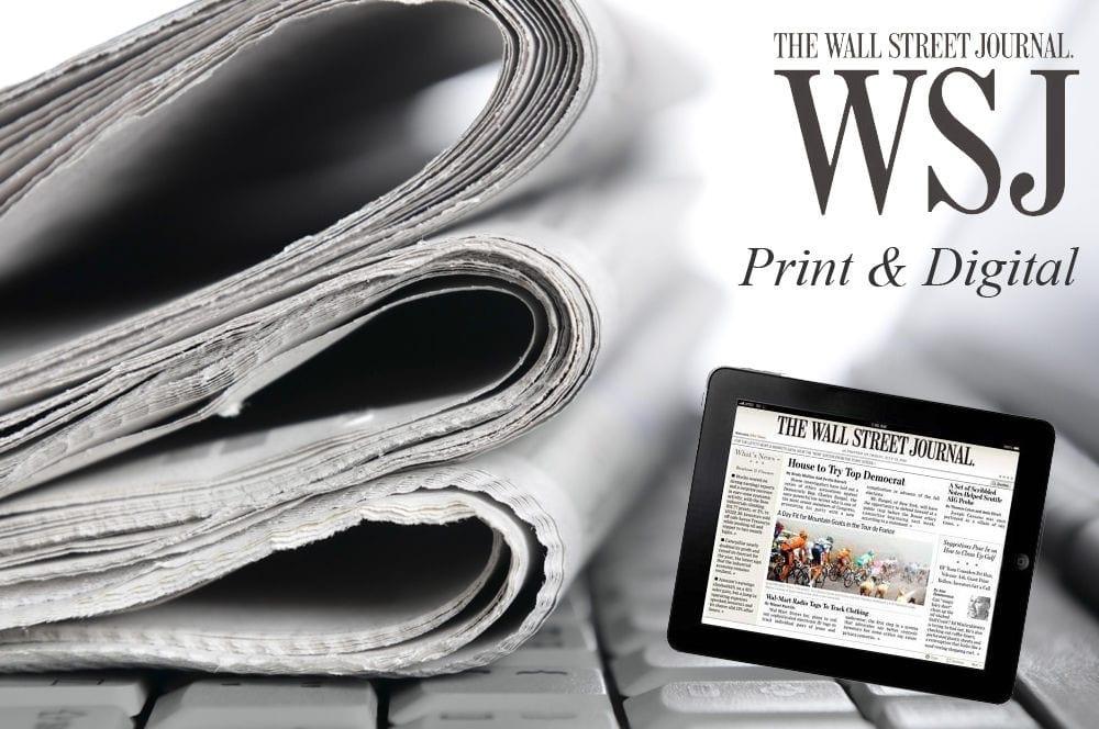 Print Amp Digital Wall Street Journal 9 Month Subscription