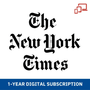 The Ny Times 1 Year Digital Subscription