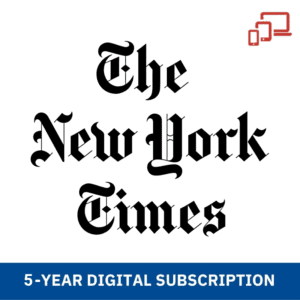 The NY times 5 Years Subscription
