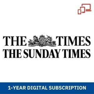 The Sunday Times 1 Year Digital Subscription