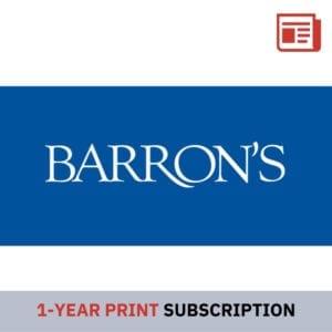 Barron's 1 Year Digital Subscription