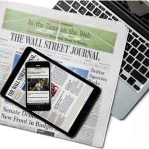 WSJ Newspaper